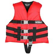 Airhead 10002-02-a-rd Open Sided Child Pfd 30-50 Lbs. Red
