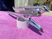 1941 Chevrolet Nors Accessory Flying Lady Goddess Hood Ornament Lucite Insert
