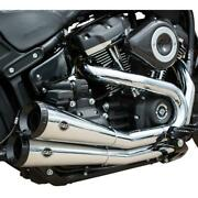 Sands Cycle 550-0781a Grand National 2-into-2 Exhaust System - Chrome
