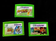 3 Leapfrog Leappad 2, 3, Ultra Explorer Toy Story 3 Jake And Pirates Mr. Pencil