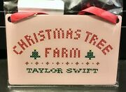 Taylor Swift Christmas Tree Farm Folklore Holiday Ornament Sold Out New In Hand