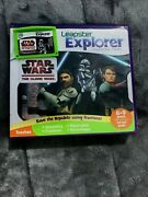 Star Wars The Clone Wars Leapfrog Leappad 2, 3, Ultra Leapster Games Case