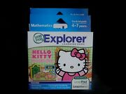 New Leapfrog Leapster Explorer Hello Kitty Game Leap Pad 23gs Xdi Ultra