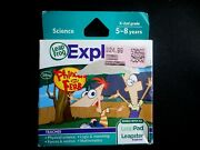 New Leapfrog Leapster Explorer Phineas And Ferb Leap Pad 23gs Xdi Ultra