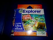 New Learn To Read Collection Adventure Stories Ultra Ebook Game Leap Frog Pad