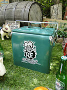 New 1950and039s Style Rat Fink Retro Cooler Box With Bottle Opener Made Of Steel