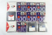 Lot Of 12 Disks Iomega Zip Disc 100mb Mac Format Pre-owned, Free Shipping