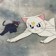 Used Sailor Moon Cel Products Used In Broadcasting Comic Anime Goods Very Rare