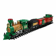 Northlight 20-piece Battery Lighted Animated Christmas Express Train Set Sound