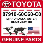 87910-60c60-c0 Toyota Oem Genuine Mirror Assy Outer Rear View Rh