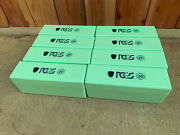 Lot Of Eight 8 Pcgs Mint Color Storage Boxes Holds 160 Coins - Free Shipping