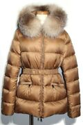 Moncler Outer Down Jacket Boed Boe Ladies 3 Approx. Ml Size Brown Cocoa Nylon