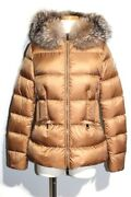 Moncler Down Jacket Ladies 0 Approx. Xs Size Boed Cocoa Nylon 2020 List Price