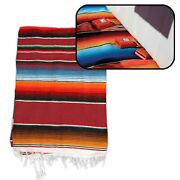 Hot Rod Interior Kit Red Authentic Mexican Native American Blanket Track Pit V8