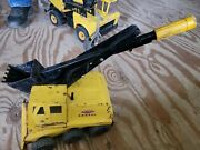 1960and039s Tonka Steam Shovel In Yellow. Andnbspgood Shape. Andnbsptreads And Shovel Workandnbsp