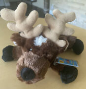 Brand New Webkinz Adopt A Pet Reindeer Hm137 With Code And Tags