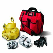 Warn Winch Accy Kit 20000 Lb Block Recover Strp Tree Protect 88900