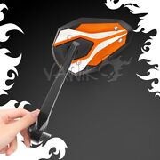 Bar End Orange Mirrors Viperii Compatible With Triumph Water-cooled Motorcycle Andepsilon