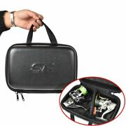 Fish Reel Bag Spinning Reel Case Leather Protective Hard Shell Waterproof Case