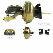 1973-77 Chevy Chevelle Fw Mount Power 11 Dual Brake Booster Kit Drum/drum Stop