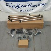 67-79 Ford Truck Triangulated Rear Suspension Four 4 Link Kit Gt 5.0 390 Chrome