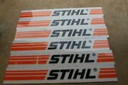 Stihl Chainsaw Weedeater Dealer Sign 6 Signs 8 X 36 Inches