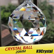 20pcs/lot 20mm Glass Crystals For Chandeliers Faceted Hanging Ball Crystal Drops