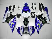 Fit For Yzf R6 2006 2007 Movistar Blue White Black Abs Injection Fairing Kit