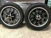Take-off Harley Davidson Impeller Wheels And Tires Touring Baggers Imp-700-17-16-2
