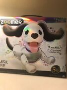 New Zoomer Playful Pup Responsive Robotic Dog With Voice Recognition