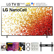 Lg 50 Inch Hdr 4k Uhd Smart Nanocell Led Tv 2021 With Movies Streaming Pack