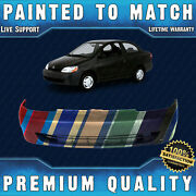 New Painted To Match - Front Bumper Cover Replacement For 2000-2002 Toyota Echo