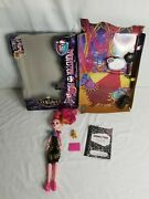 Monster High 13 Wishes Gigi Grant Doll Stand Diary Lamp Purse With Box