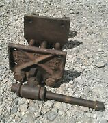 Antique Under The Bench Columbian Speed Vise Cleveland Ohio