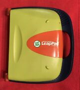 Leappad Learning System Leap Frog W/ Carrying Case Smart Cards And 8 Cartridges