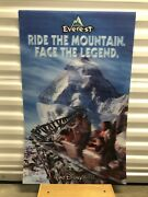 3d Poster Disney World Expedition Everest Roller Coaster Poster 5x22 Rare