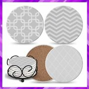 Drink Coasters Absorbent Coaster Furniture Tabletop Protection Ultimate Hostess
