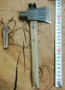 24 Cm Japanese Woodworking Carpentry Tools Iron Axes Hatchets Ono Antique Used