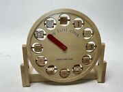 Pre-owned Pottery Barn Kids My First Clock Wooden Toy Education Time