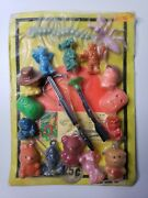 Vintage Charms Toys Old Gumball Vending Machine Display Card 143