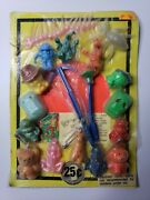 Vintage Charms Toys Old Gumball Vending Machine Display Card 144