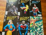 Justice Society Of America Alex Ross Variants Lot 5, 6,7,8,10, 11 Vf/nm
