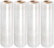 Packagezoom Pre Stretched 15andrdquo X 1500 Ft 240 Rolls Stretch Wrap Film Clear Cling