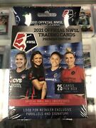 2021 Official Nwsl Trading Cards Premier Edition Hanger Box Womens Soccer 1 Box
