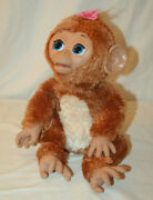 Hasbro Furreal Friends Cuddles My Giggly Monkey 17 Interactive Pet 2012 - A1650