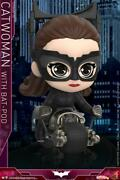 Hot Toys Cosbaby Catwoman W/batpod Mini Puppet Cosb725 Figure Model Doll Toys