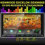 Kenwood Excelon Ddx9905s Cd Dvd Receiver Apple Car Play And Android Auto 6.75