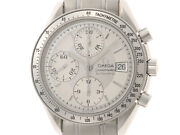 Omega 3513.30 Speedmaster Date Silver Dial Stainless Steel Automatic Winding
