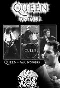 Queen - Group W/paul Rodgers B/w Poster
