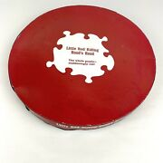 Vtg 1970 Springbok Round Jigsaw Puzzle Little Red Riding Hood's Hood 500+ Pieces